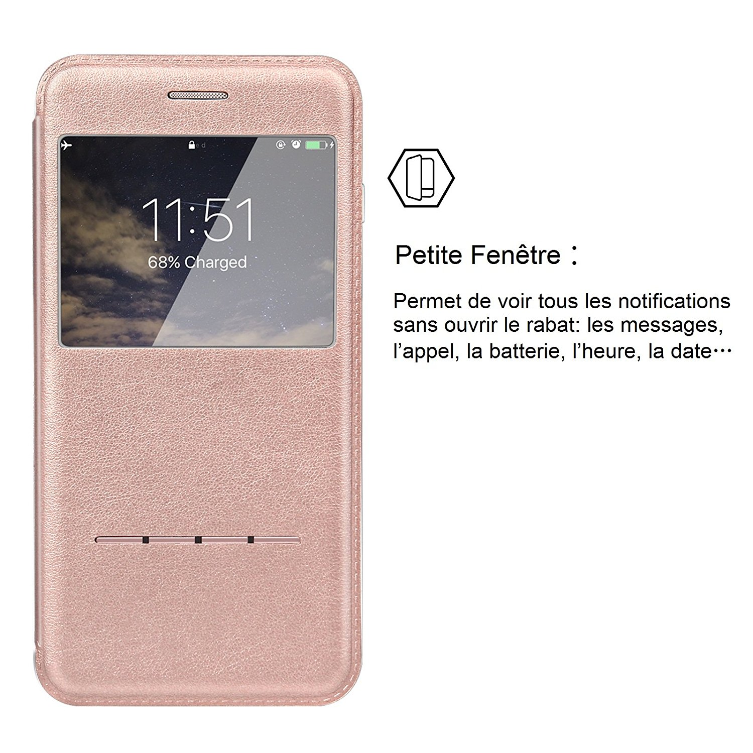 coque iphone 7 a clapet