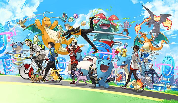 Les Pokémon légendaires arrivent ce week-end dans Pokémon GO