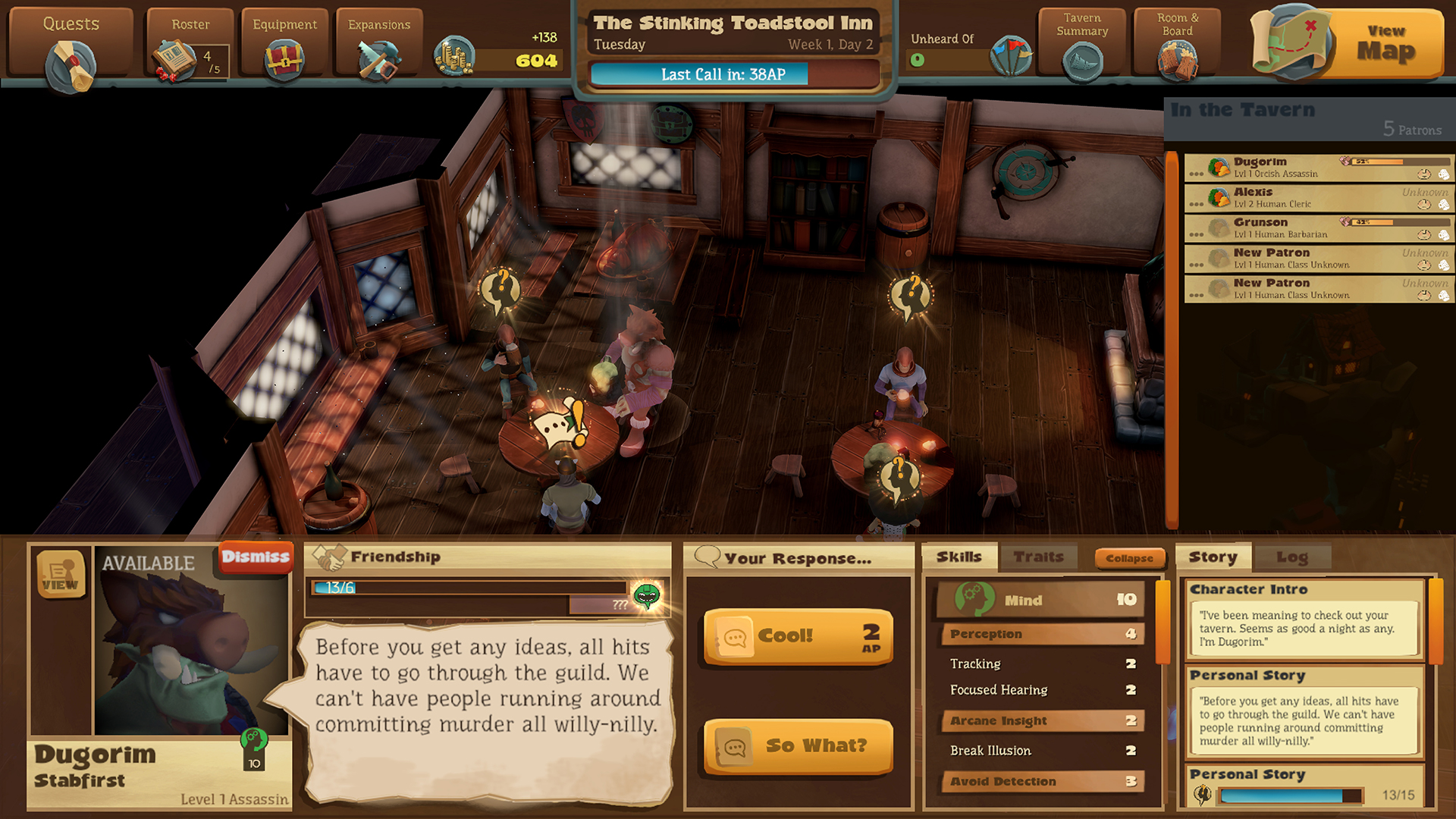 Preview Test Epic Tavern simulateur de taverne sur Steam1325