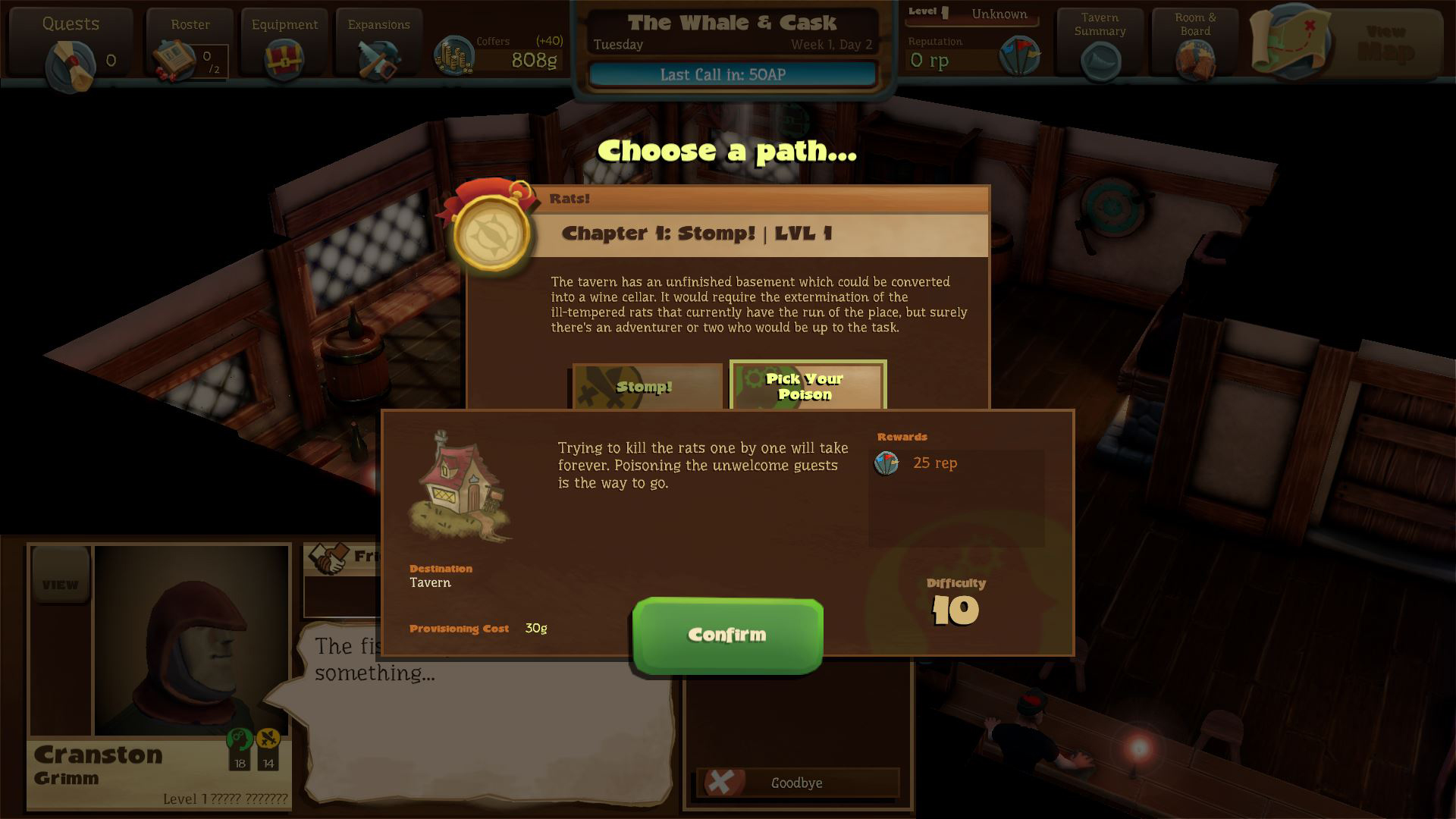 Preview Test Epic Tavern simulateur de taverne sur Steam14