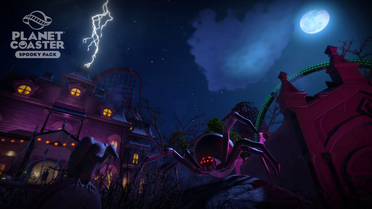 Spooky Pack Planet Coaster Steam12