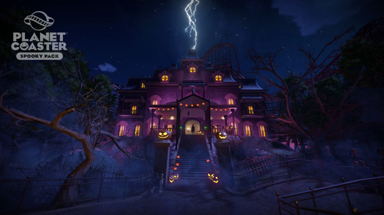 Spooky Pack Planet Coaster Steam14