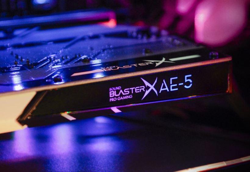 aurora reactive SDK sound BlasterX 1