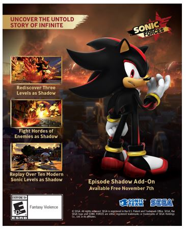 precommandes-sonic-forces-edition-episode-shadow