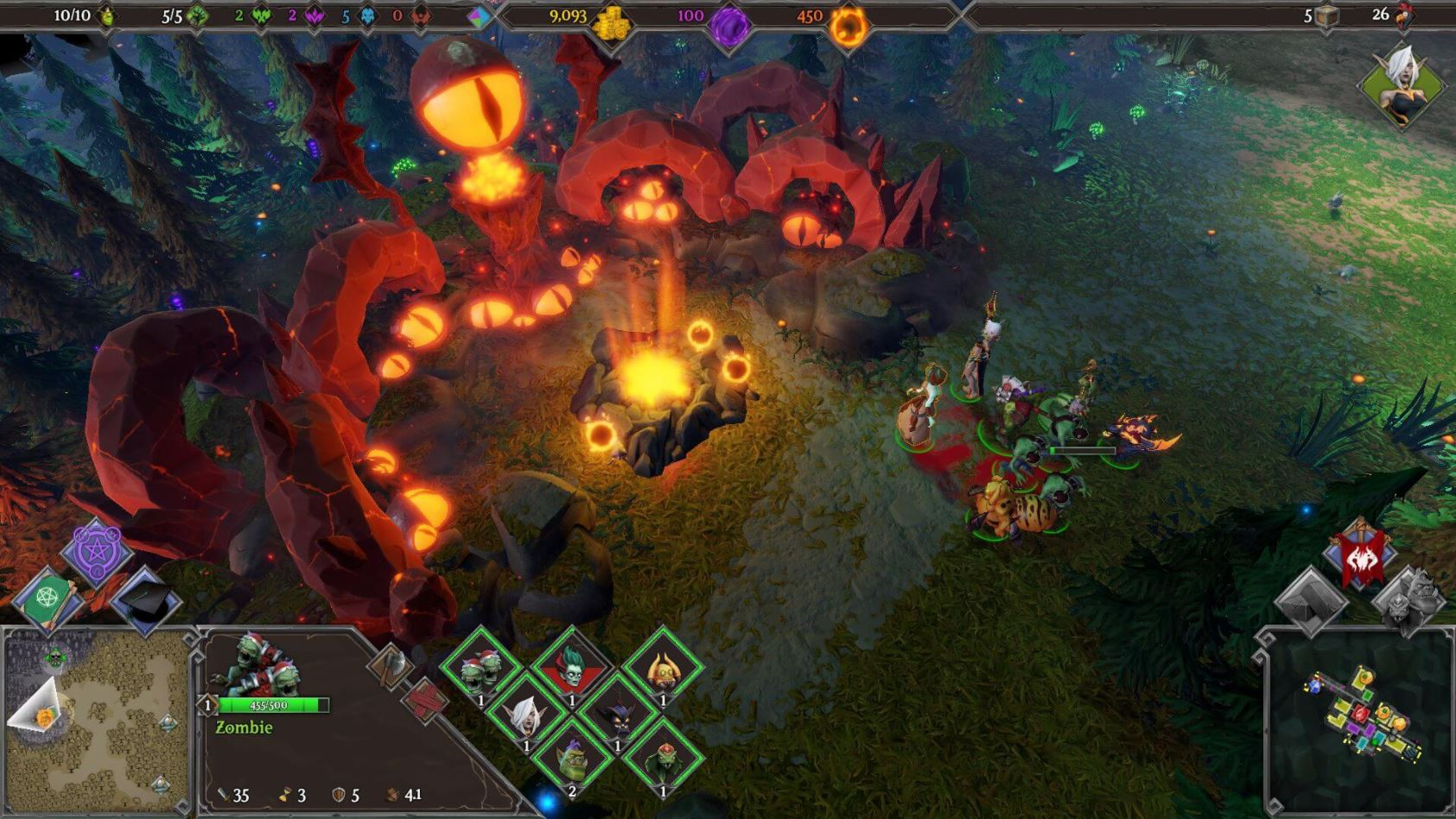 Dungeons 3 sur Steam promo dungeons 2 screen1