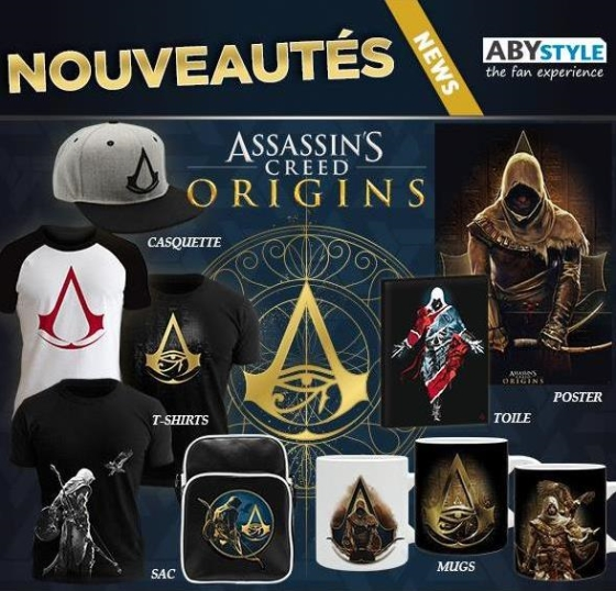 nouveautés ABYstyle assassin's creed origins