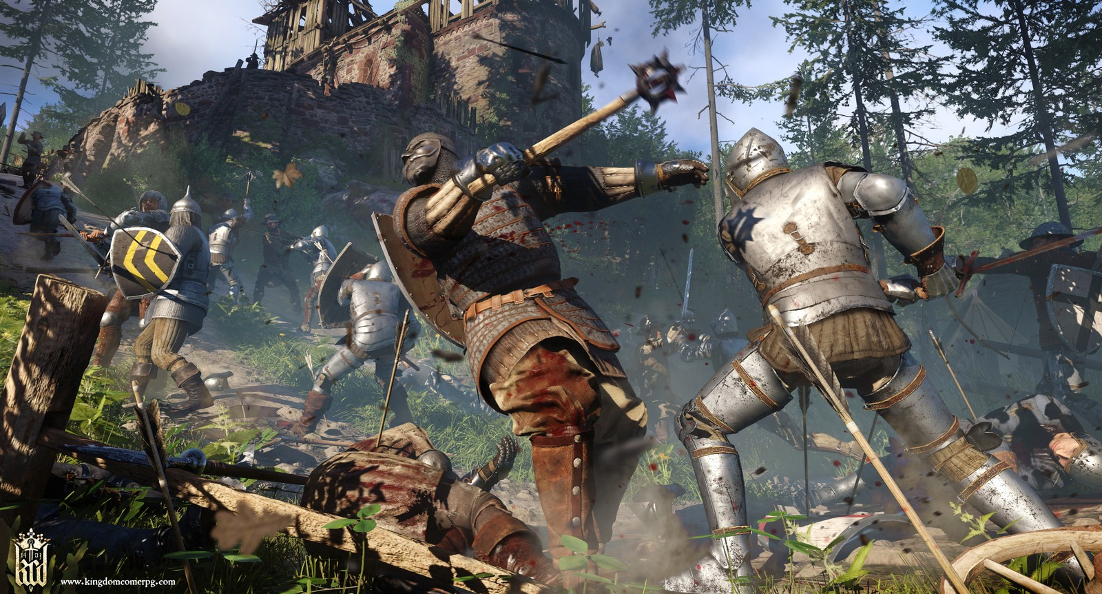 Kingdom Come Deliverance ps4 xbox one pc date de sortie 12