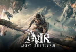 MMORPG AAA 2018 Ascent Infinite Realm A IR bluehole kakao games