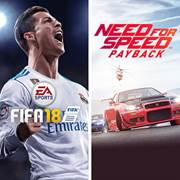 Mise à jour du PlayStation Store du 13 novembre 2017 EA SPORTS FIFA 18 and Need for Speed Payback Bundle