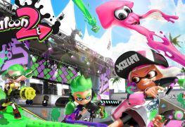 Mises à jour gratuites Splatoon 2 Nintendo Switch