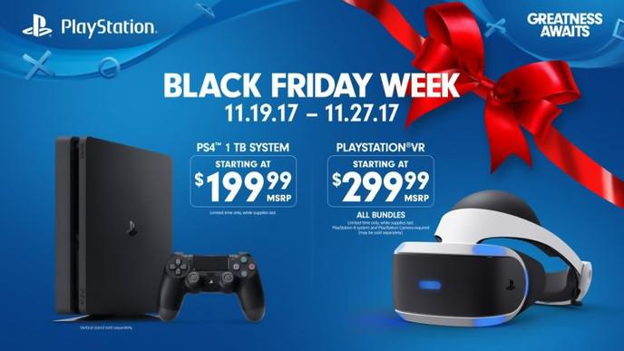 PlayStation 4 1To black Black Friday PS VR meilleurs prix