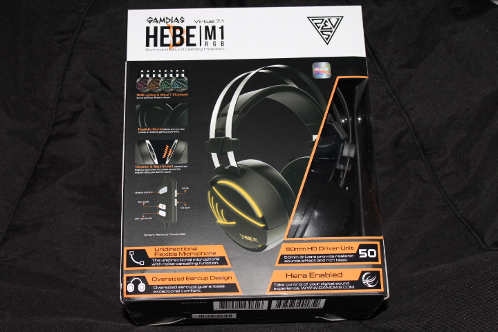 Test Casque gaming Gamdias HEBE M1 RGB 1