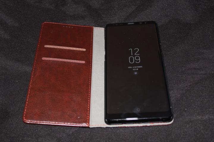 Test Housse Samsung Galaxy Note 8 Olixar X-Tome 5