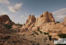 nouveaux screenshot map désert PUBG 16