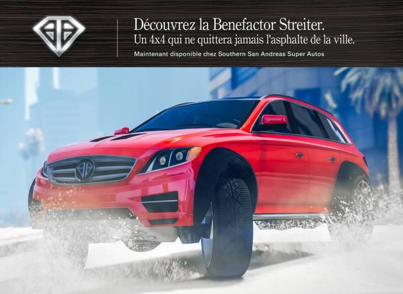 Benefactor Streiter GTA Online