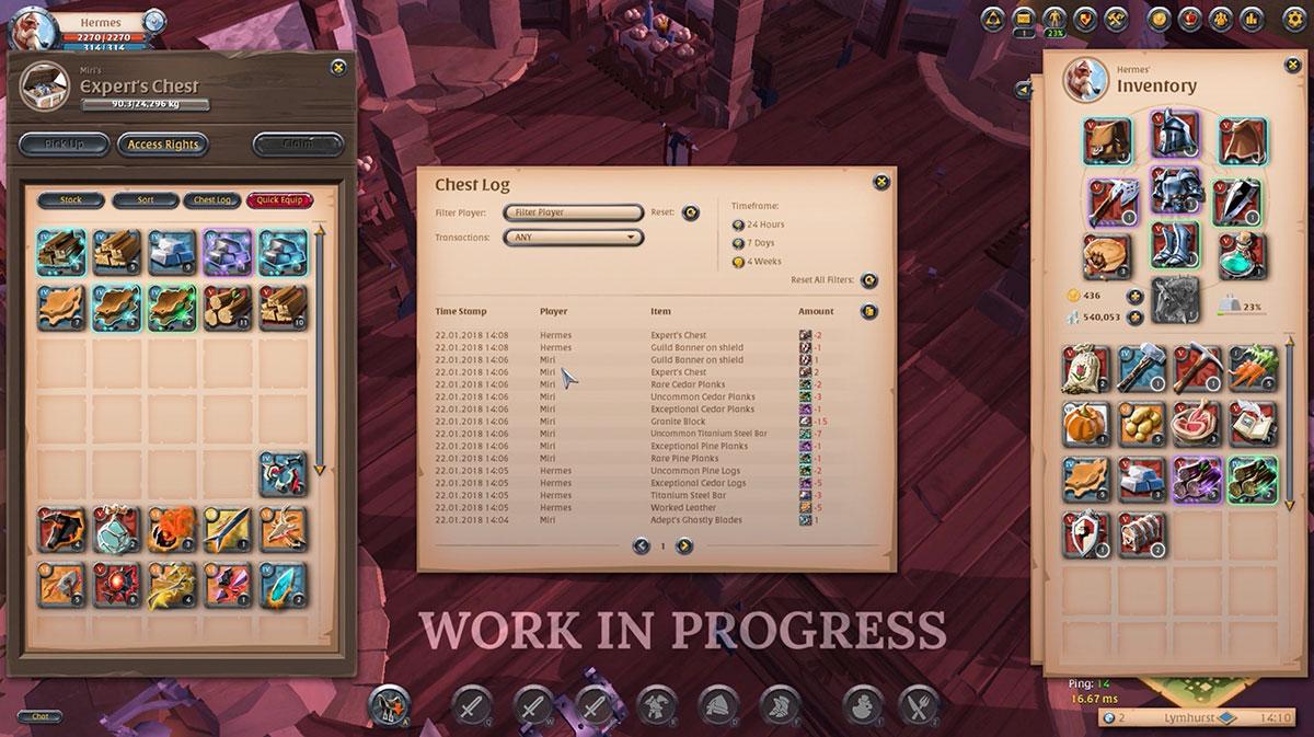 Albion online mise à jour guilde Lancelot 1