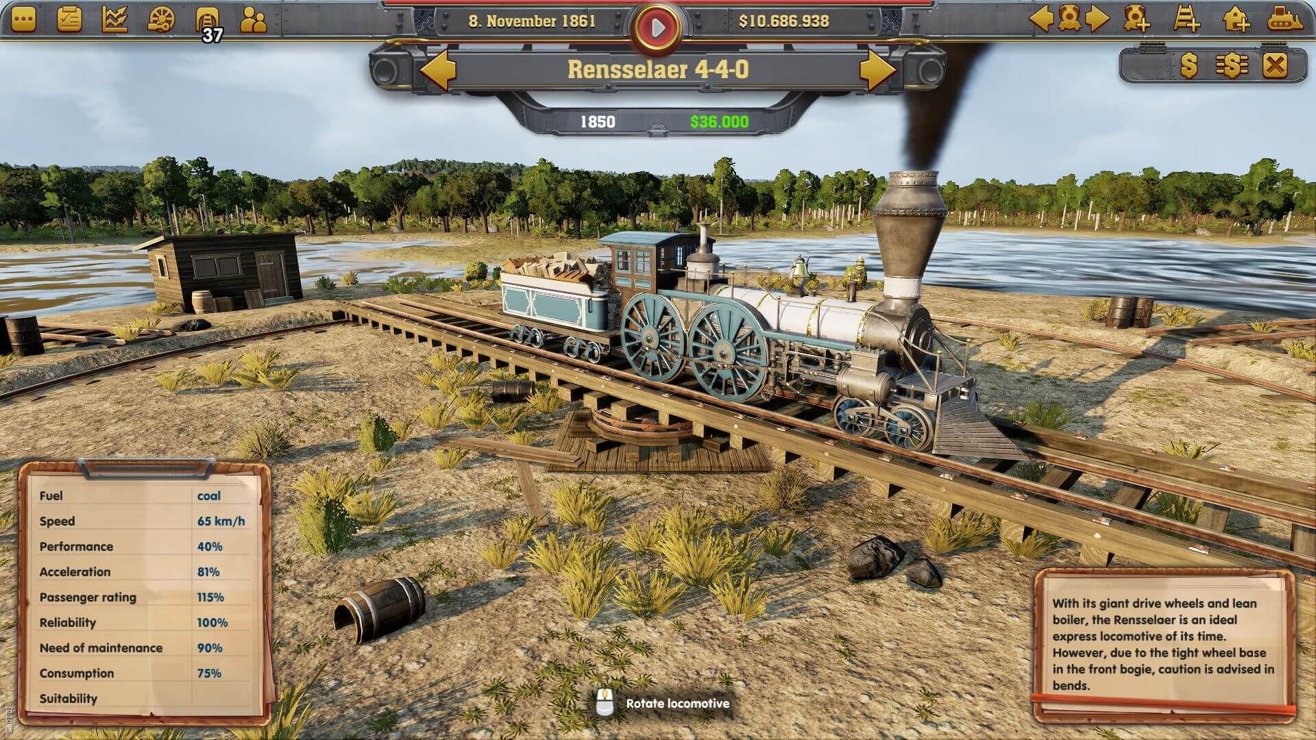 Railway Empire pc ps4 pro xbox one x steam gog 1