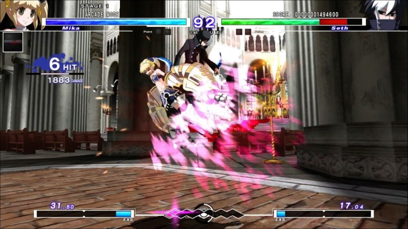 UNDER NIGHT IN-BIRTH Exe Late ps3 ps4 ps vita 5