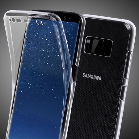 Coque Samsung Galaxy S8 Olixar FlexiCover en gel – Transparente mobile fun