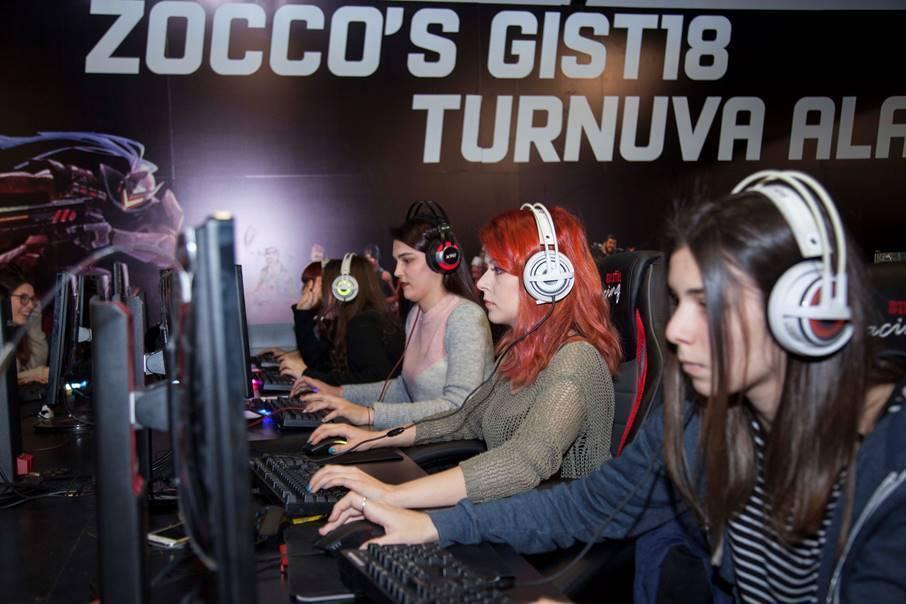 GIST 2018 troisième plus grand salon d'europe gaming istambul 4