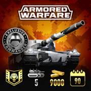 Mise à jour du PlayStation Store du 5 février 2018 Armored Warfare Mercenary Legend Pack