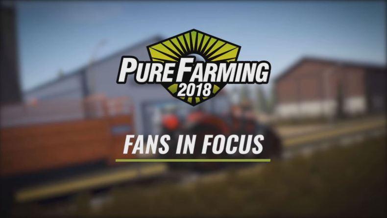 Pure Farming 2018 Fan in Focus