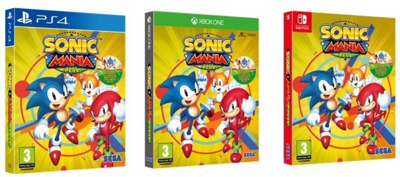 Sonic Mania Plus infos