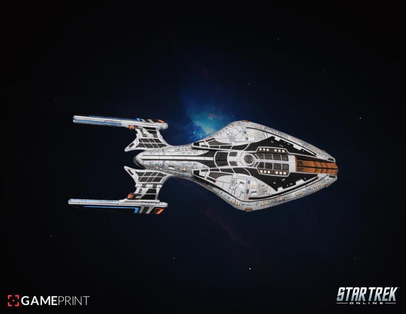 Star Trek Online vaisseaux 3D Mixed dimensions12