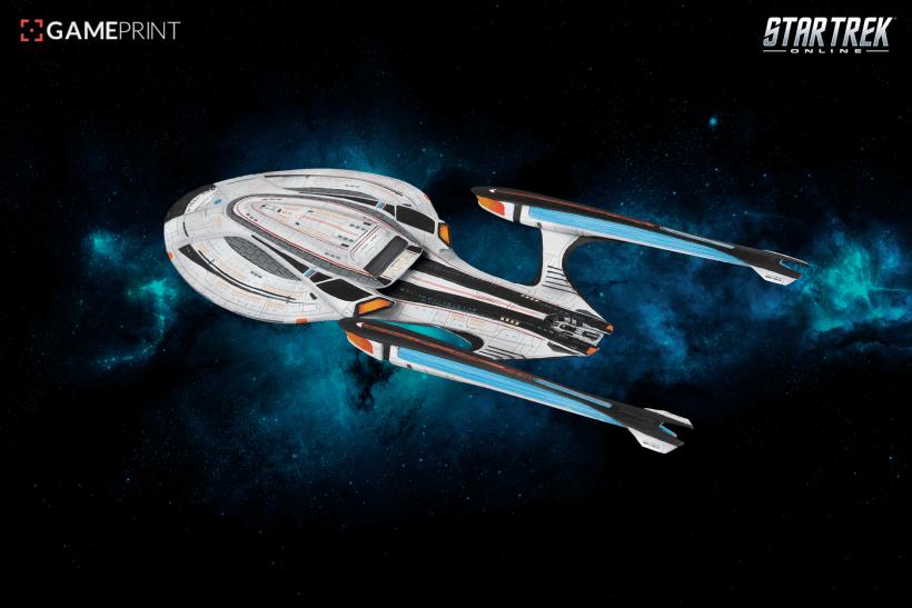 Star Trek Online vaisseaux 3D Mixed dimensions36