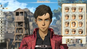 Test Attack on Titan 2 pc xbox one switch ps4 character editor fr