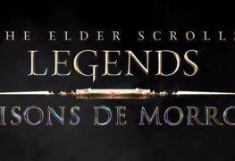 the edlder scrolls legends les maisons de morrowind