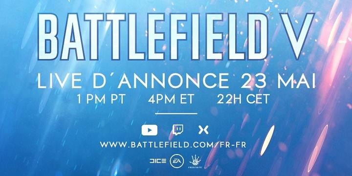 Battlefield 5 : le nom du jeu confirmé, EA révèle la date d'annonce