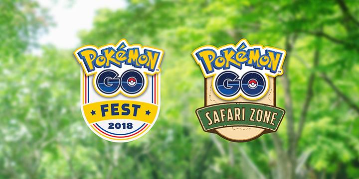 Pokémon GO summer tour 2018 safari zone fest