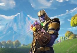 Thanos Avengers Fortnite Battle Royale