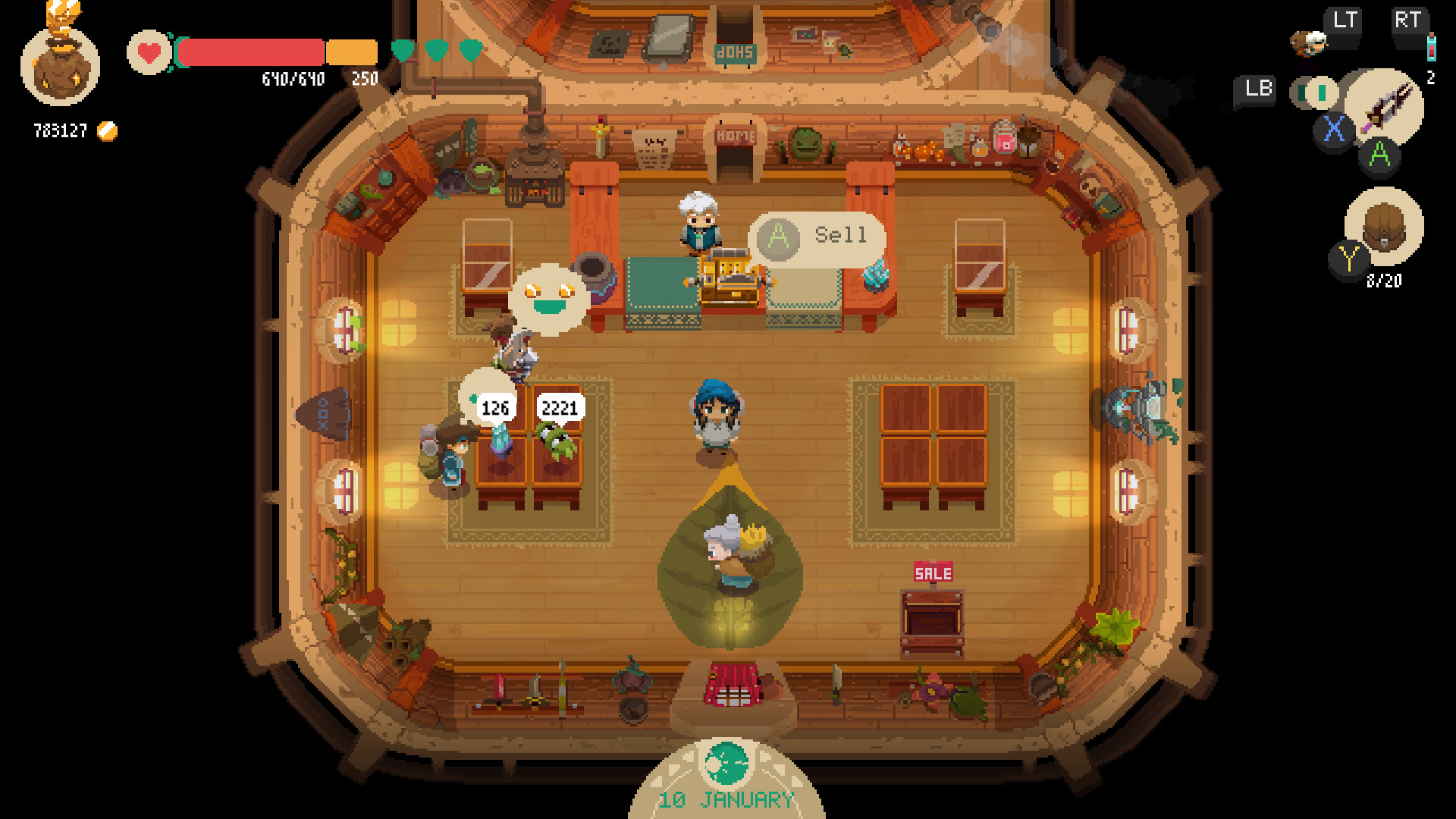 Test Moonlighter pc screen11