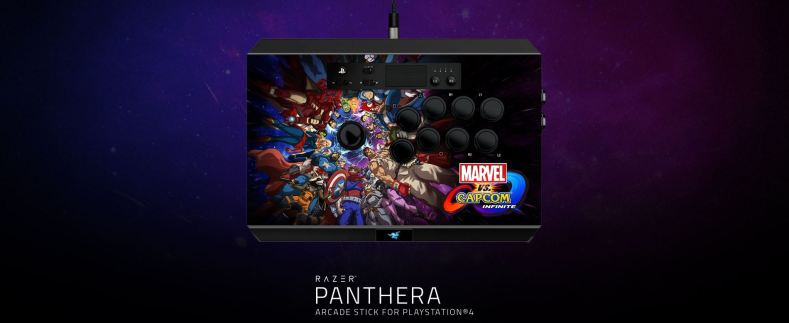 Razer Panthera Marvel vs Capcom 2