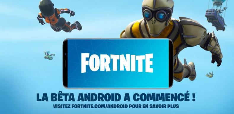 beta fortnite android