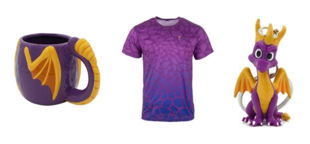 Numskull produits dérivés Spyro Reignited Trilogy