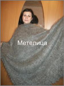 Дорогой эксклюзивный оренбургский пуховый платок