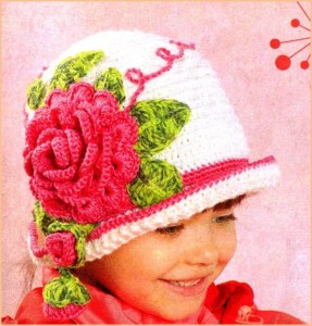 Шляпка на девочке как картинка