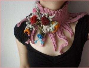 Модное шейное украшение