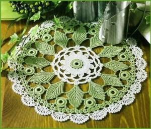 Зелёная салфетка