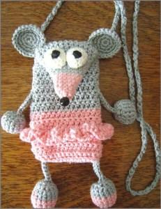 Забавный чехол в виде мышки