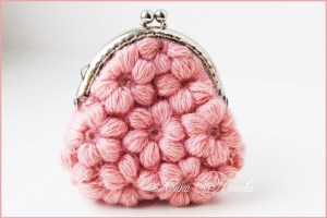 Розовый кошелёк для мелочи