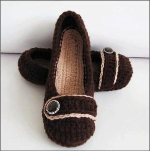 Изящные тапочки как туфли