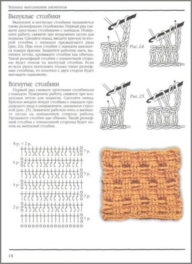 Рельефные столбики