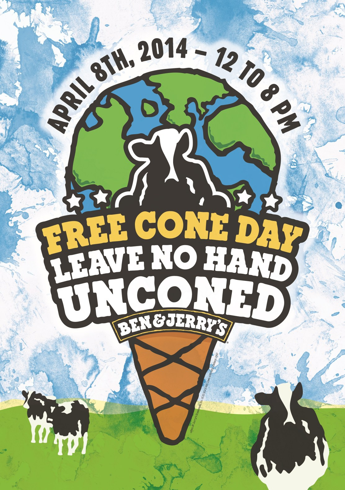 Free Cone Day 2014 key visual