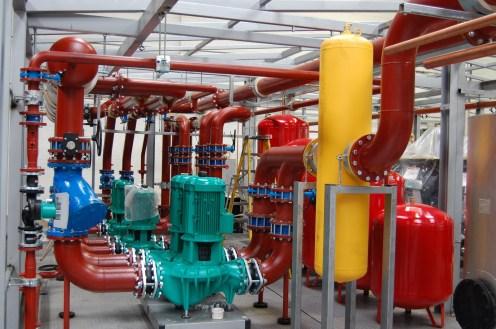 Chilled water pump installation method statement