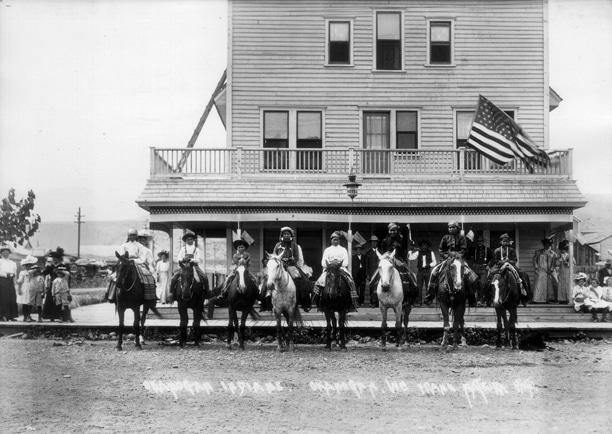 Photo by Frank Matsura, courtesy of Okanogan Historical Society.
