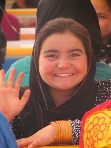 Kabul student Ayesha